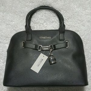 Kenneth Cole Reaction Padlock Hardware Dome Satche